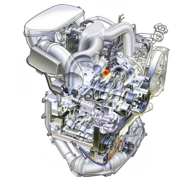 Двигатель Субару Форестер 3 поколения