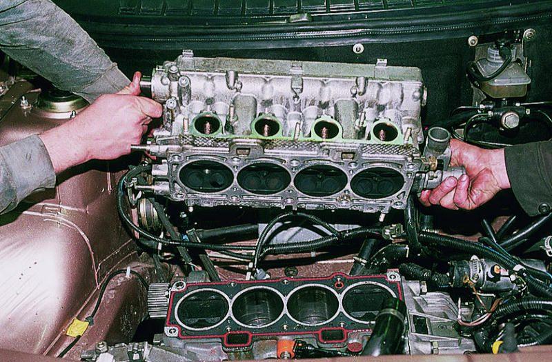 Ремонт головки блока цилиндров на легковом автомобиле