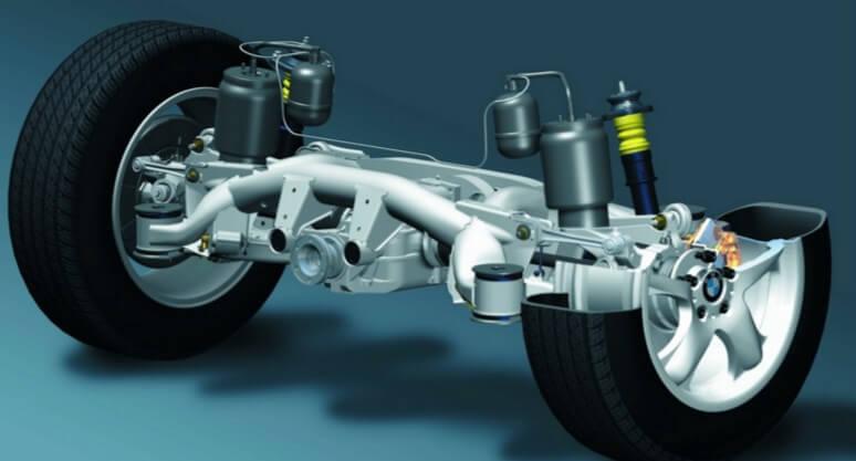 Подвеска немецких автомобилей БМВ X5 и пятой серии
