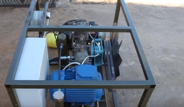 Комплекты для автозаправки метаном самостоятельного изготовления