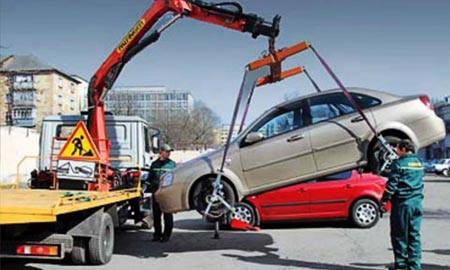Если автомобиль поврежден при эвакуации