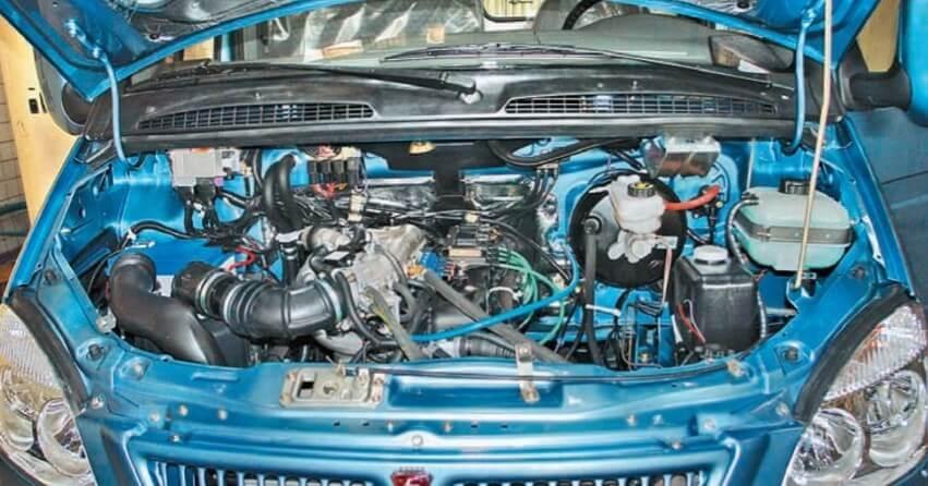 Характерные особенности двигателя УМЗ 4216