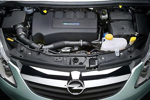 Двигатели, устанавливаемые на автомобиль Opel Corsa D