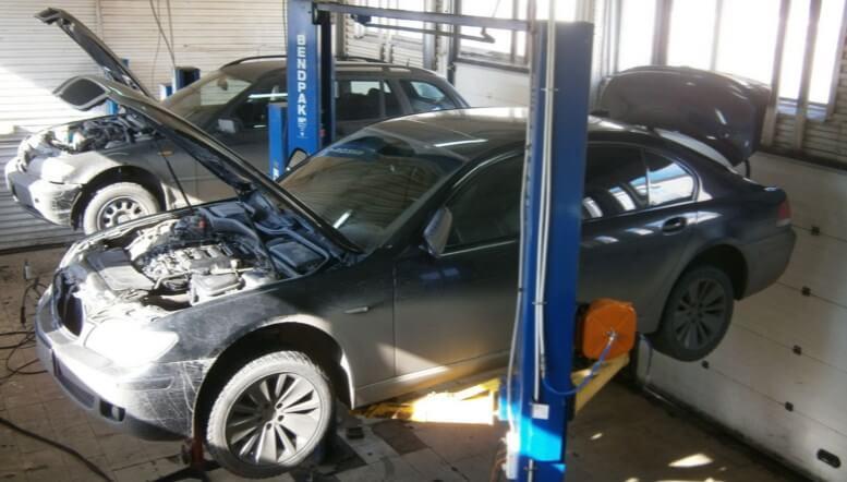 Замена катализаторов на BMW