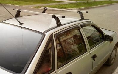 Багажник на крышу автомобиля Дэу Нексия