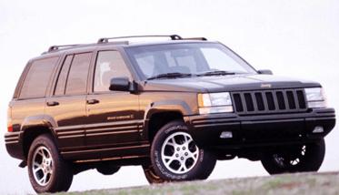 Первое поколение Jeep Grand Чероки