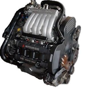 Двигатель Mitsubishi Pajero 2