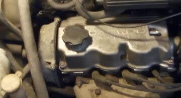 Замена ремня ГРМ Daewoo Matiz с двигателем 0.8