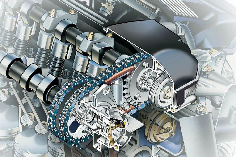 Изменение фаз газораспределения в двигателе