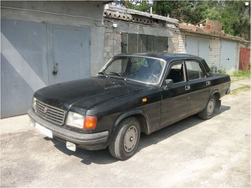 Практичная и надежная Волга ГАЗ 31029