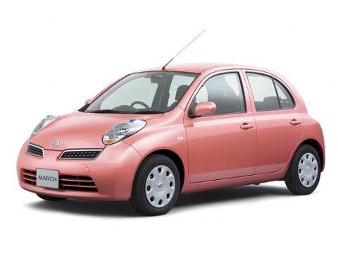 Топ-6 женских авто Nissan Micra