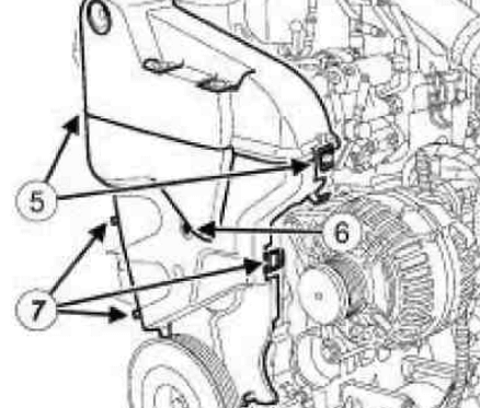Замена ремня ГРМ Nissan Qashqai на дизеле K9K 410