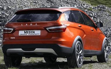 Технические характеристики Lada Vesta Cross