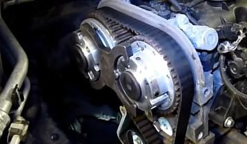 Замена ремня ГРМ Ford Focus 2 1.6