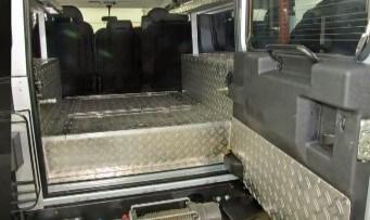 Обшивка УАЗ «Буханка» рифленым алюминиевым листом