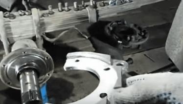 Замена задних барабанных тормозов на дисковые УАЗ-31512