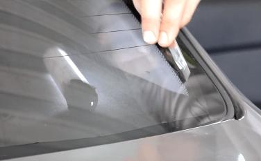 Как затонировать заднее стекло автомобиля
