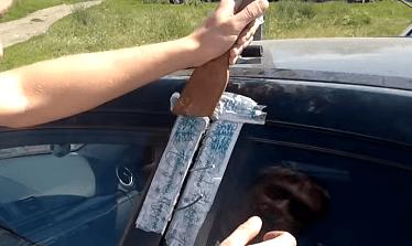 Как открыть дверь машины без ключа