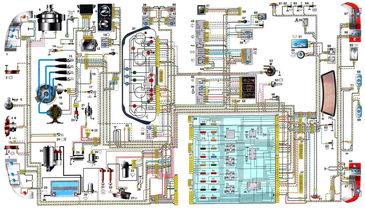 Электрооборудование автомобилей