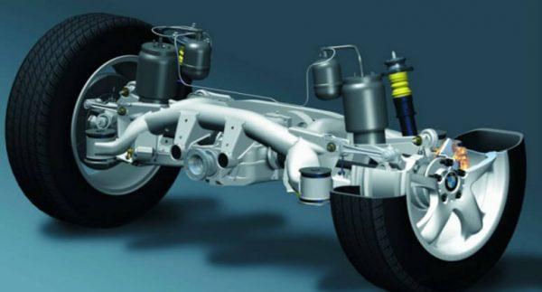 замена задних пружин на BMW e39