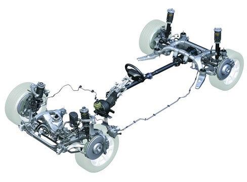 BMW e39 рычаг передней поперечной подвески