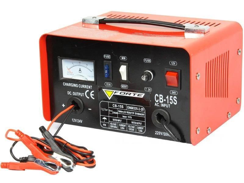 Зарядка АКБ зарядным устройством