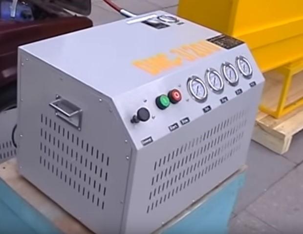Домашняя заправка метаном с помощью промышленного оборудования