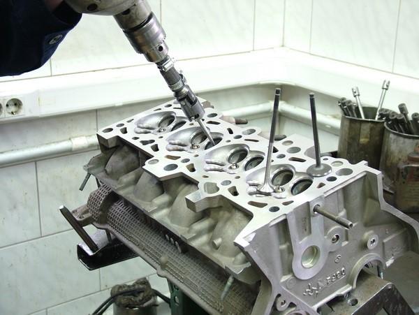 Ремонт головки блока цилиндров своими руками