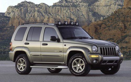 Американский компактный внедорожник Jeep Liberty
