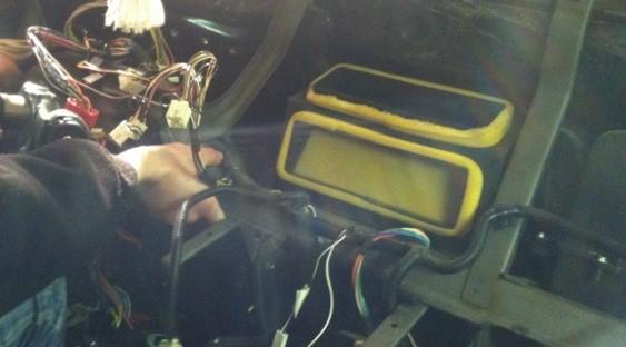 Радиатор печки с кондиционером Нива Шевроле (замена)