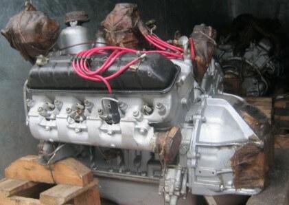 Двигатель ЗМЗ 53 технические характеристики