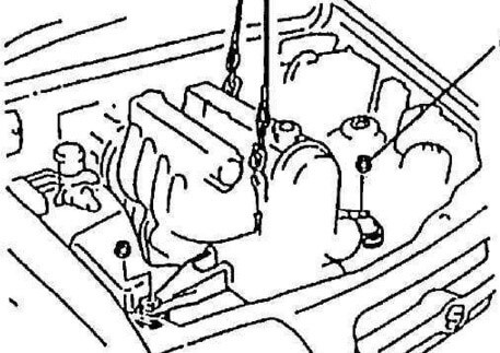 Сузуки Гранд Витара: замена двигателя