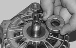 Замена щеток генератора Ланос