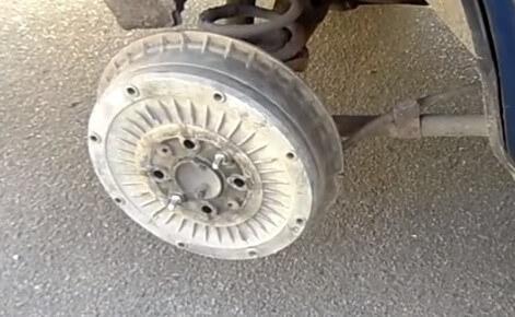 Замена тормозного цилиндра 2107