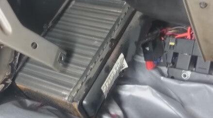 Замена радиатора печки Chevrolet Niva