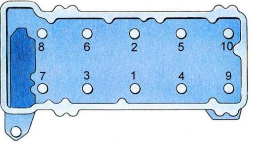Замена прокладки ГБЦ ВАЗ 2106