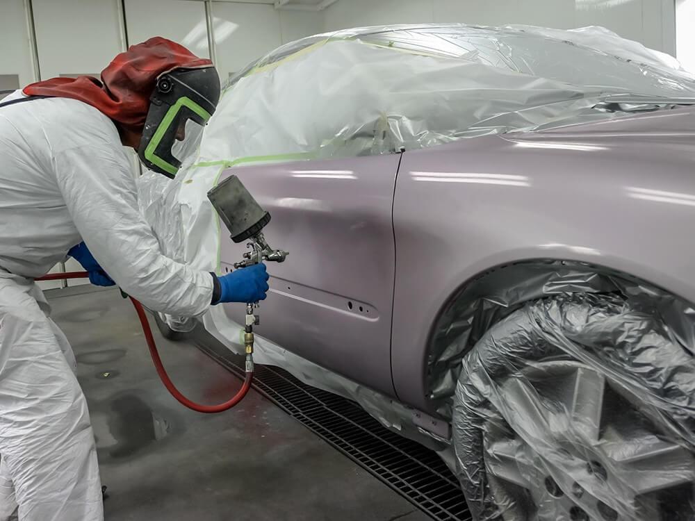 Профессиональная покраска авто своими руками