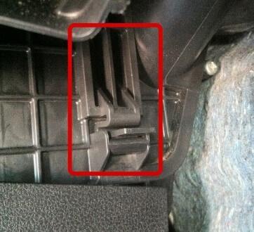 Замена салонного фильтра Nissan Qashqai J11
