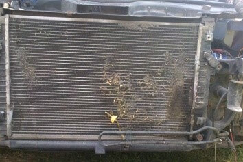 Средство для чистки радиатора автомобиля снаружи