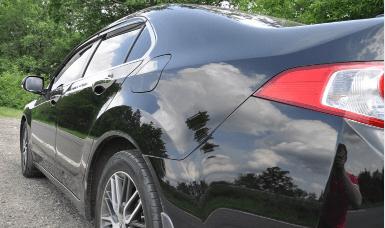 Как полировать машину «жидким стеклом»
