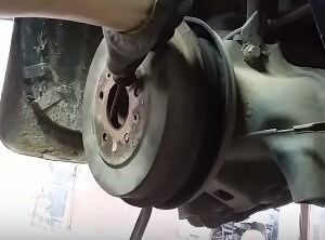 Замена заднего подшипника ступицы Ford Focus 2