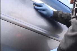 Полировка автомашины после покраски