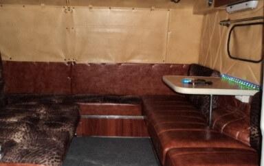 Тюнинг пассажирского отсека в салоне