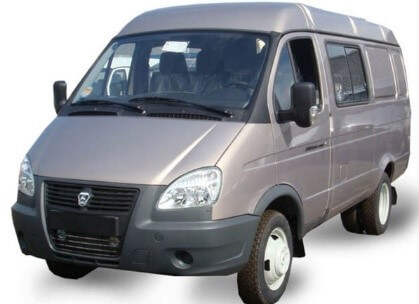 Газель фургон: размеры кузова