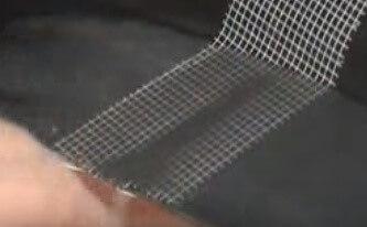 Ремонт переднего бампера своими руками (заделка трещины)
