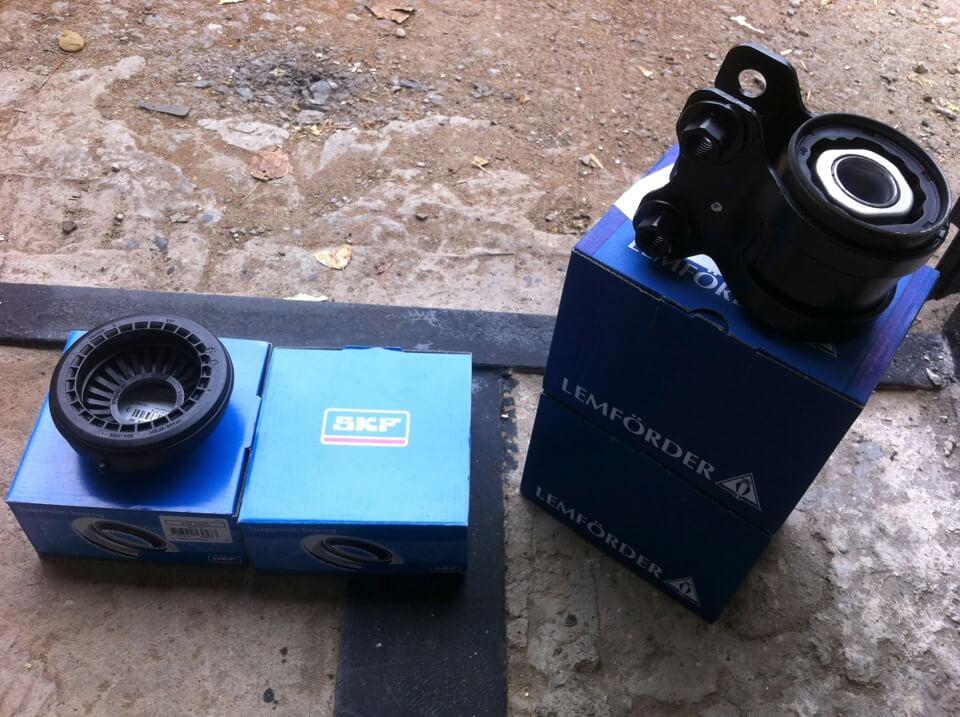 Замена рычагов и сайлентблоков передней подвески Ford Focus 2