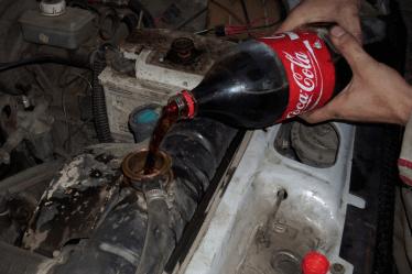 Средства для промывки радиатора системы охлаждения двигателя
