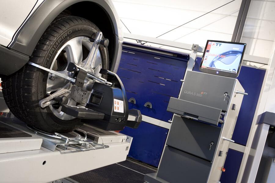 Регулировка углов колес на автомобиле