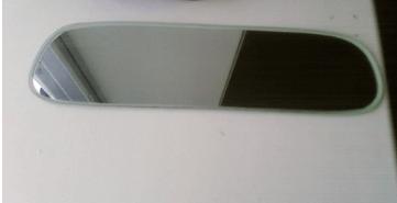 Установка многофункционального салонного зеркала