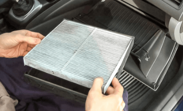 Чистка фильтра в авто